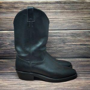 "Chippewa Mens Boots Sz 11.5 E Black Wellington 12"""